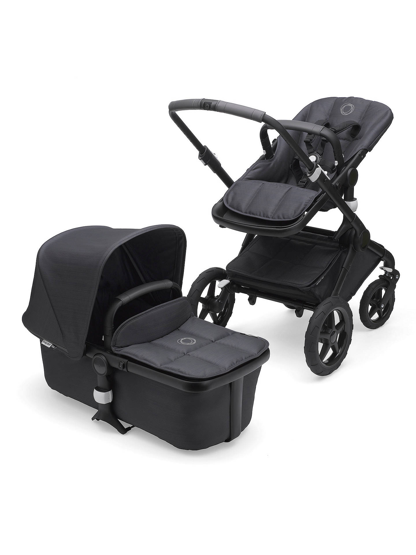 Bugaboo Fox Limited Edition Complete Pushchair And Carrycot Stellar