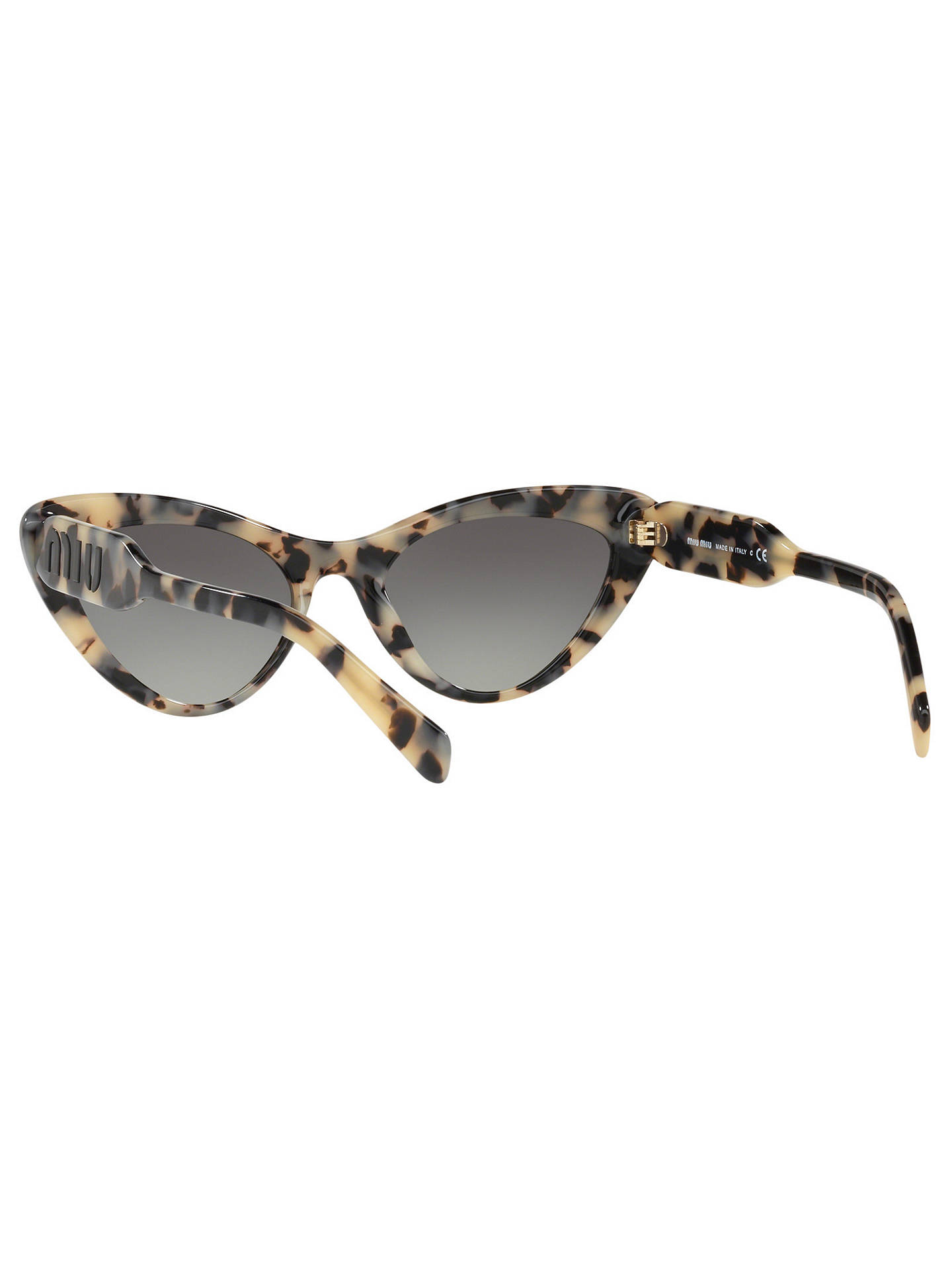 1133c6d8f13 ... Buy Miu Miu MU 05TS Women s Stud Cat s Eye Sunglasses