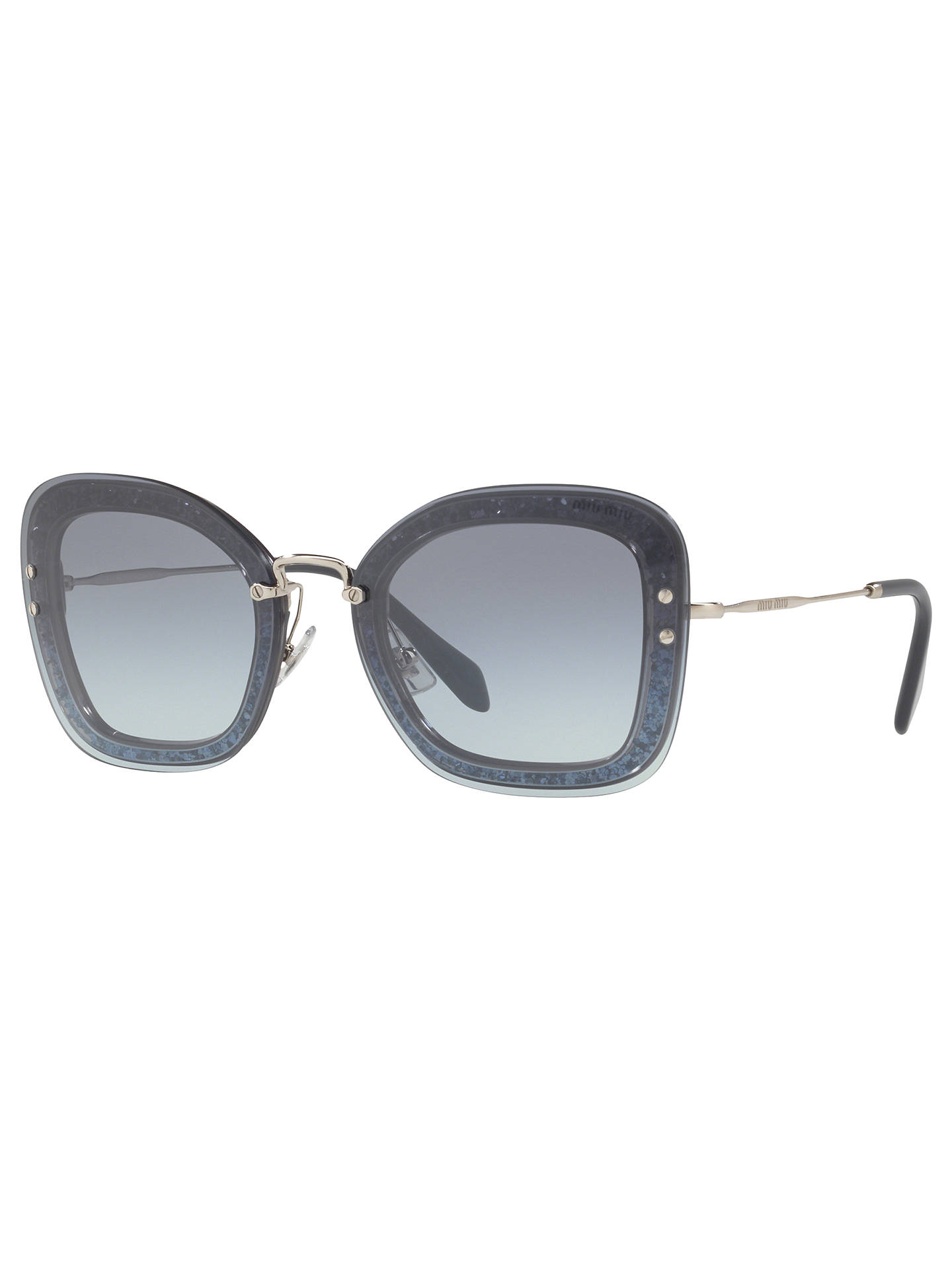 cb2b878e441 Buy Miu Miu MU 02TS Rectangular Sunglasses