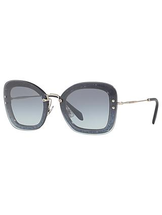 8168819ddb Miu Miu MU 02TS Rectangular Sunglasses