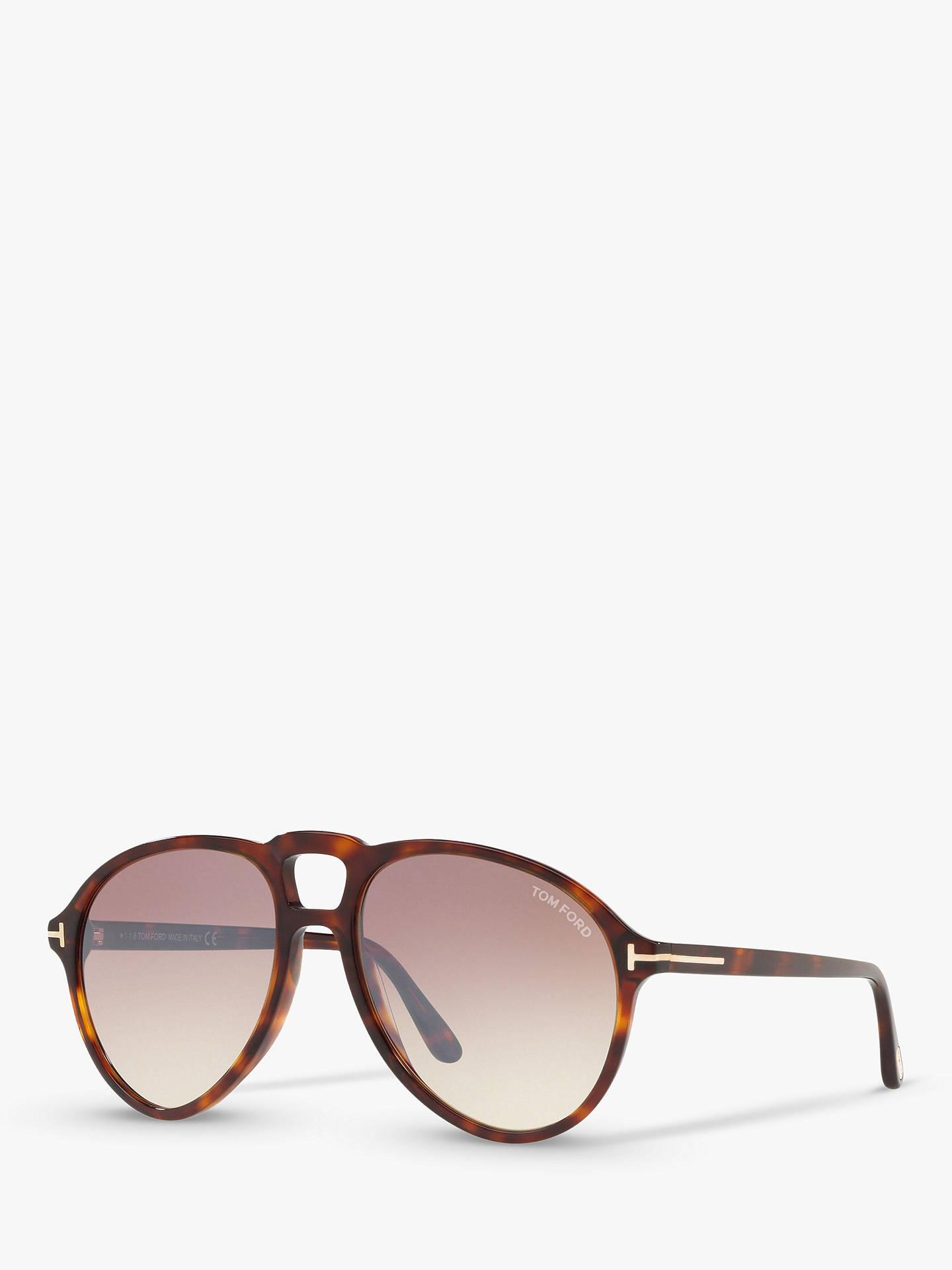 dfa4406b4868 TOM FORD FT0645 Men s Lennon Aviator Sunglasses at John Lewis   Partners