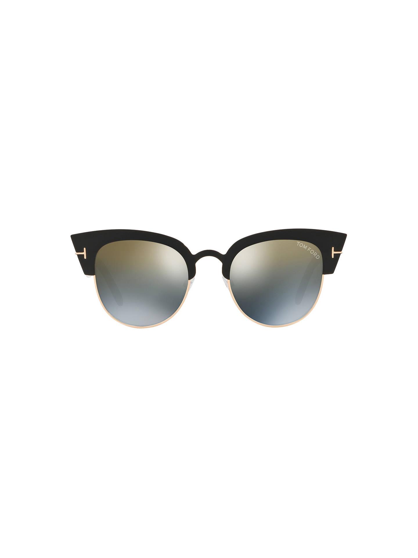 0f37db2ec11 ... Buy TOM FORD FT0607 Women s Alexandra Cat s Eye Sunglasses