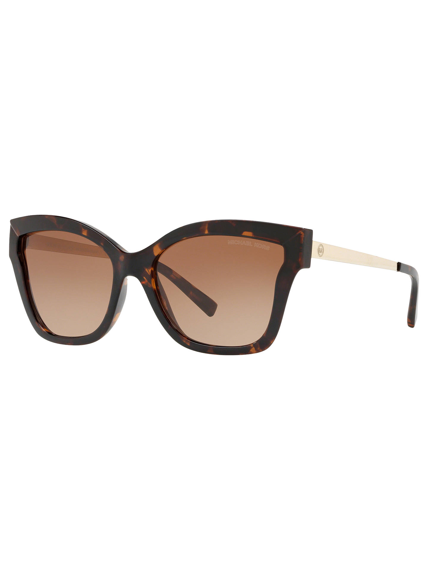 cbdd32fea78 Michael Kors MK2072 Women s Barbados Square Sunglasses at John Lewis ...