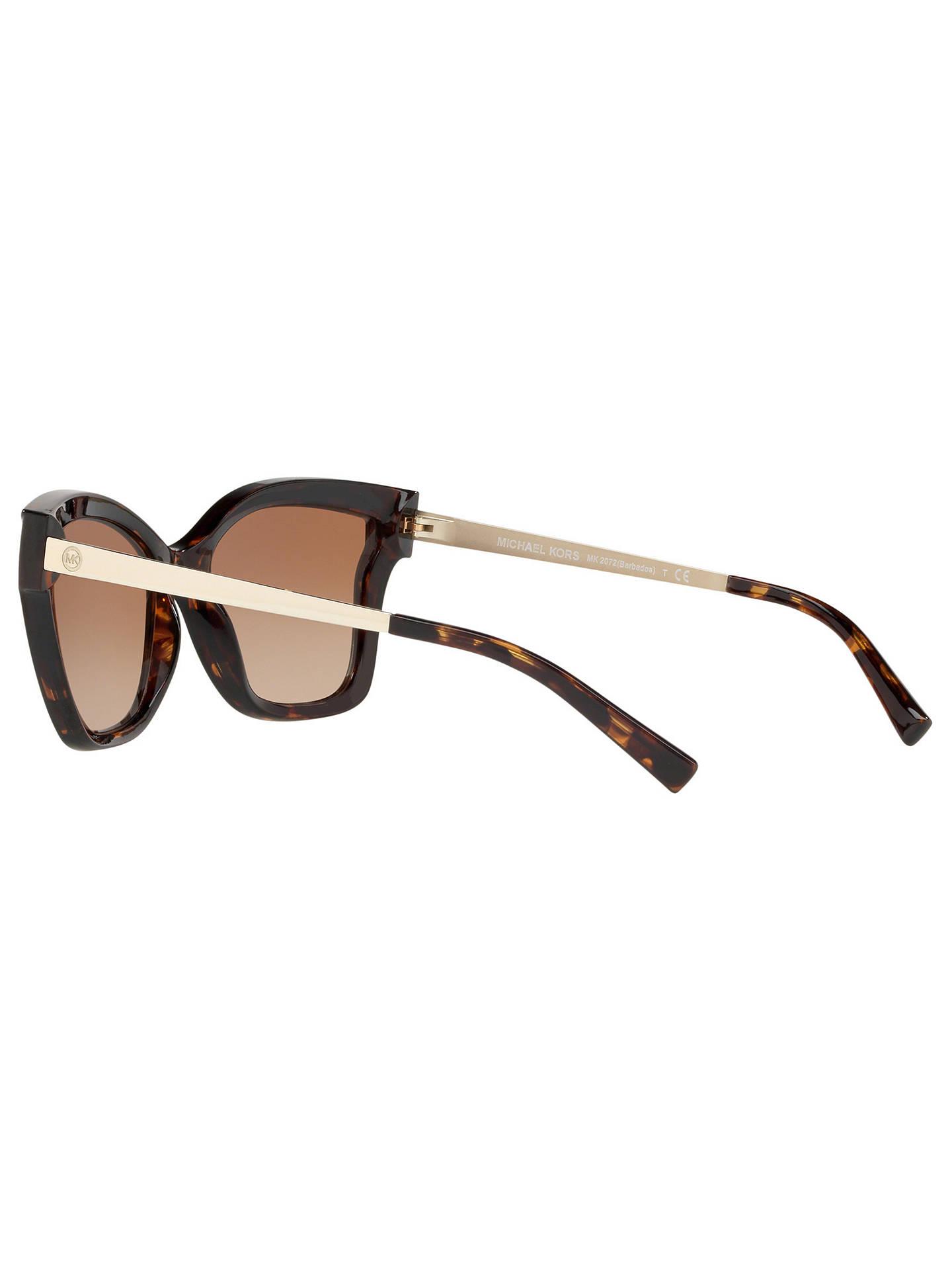 0b073c6d46 Michael Kors MK2072 Women s Barbados Square Sunglasses at John Lewis ...