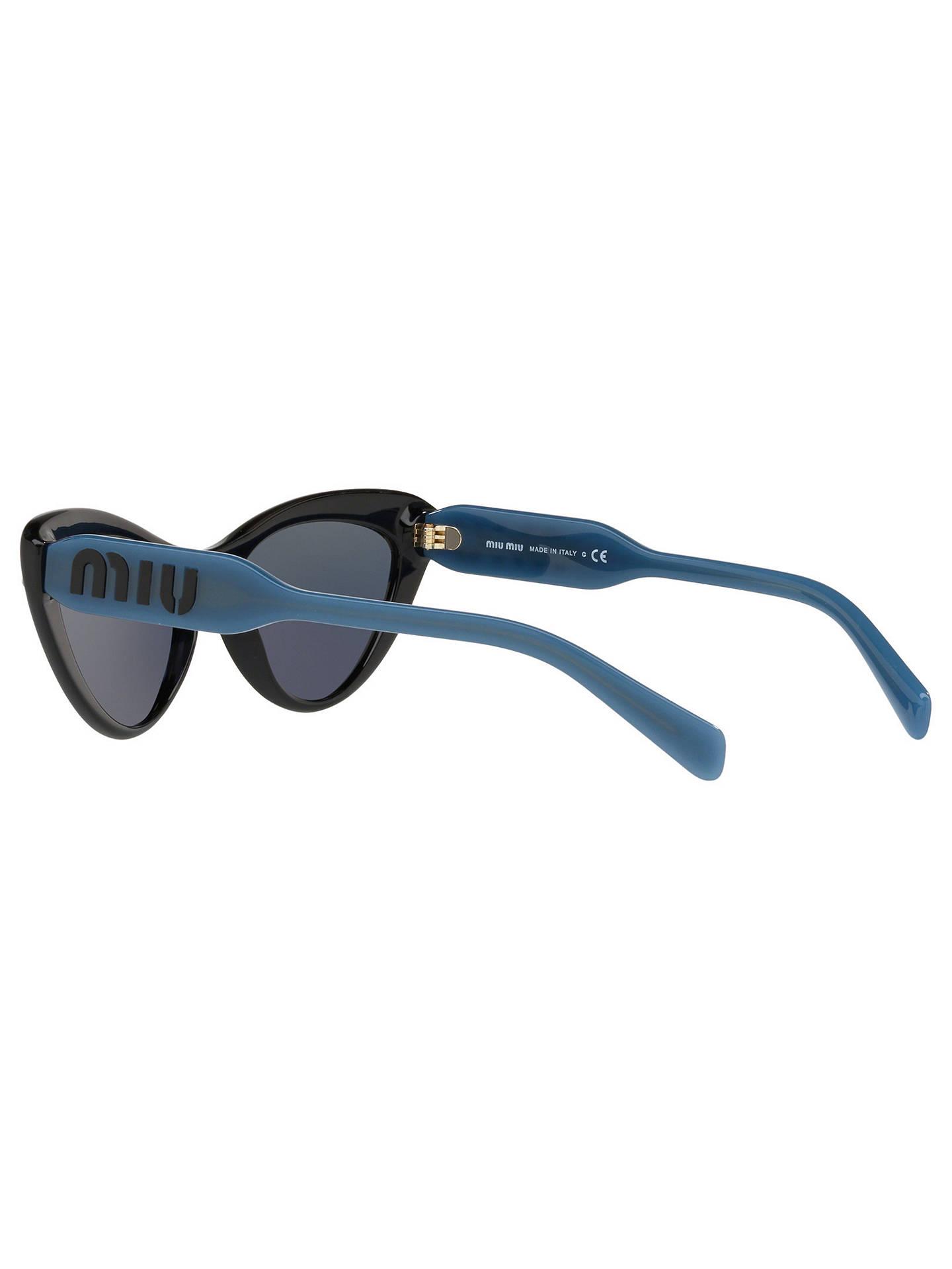 1a0514f30a ... Buy Miu Miu MU 05TS Women s Stud Cat s Eye Sunglasses