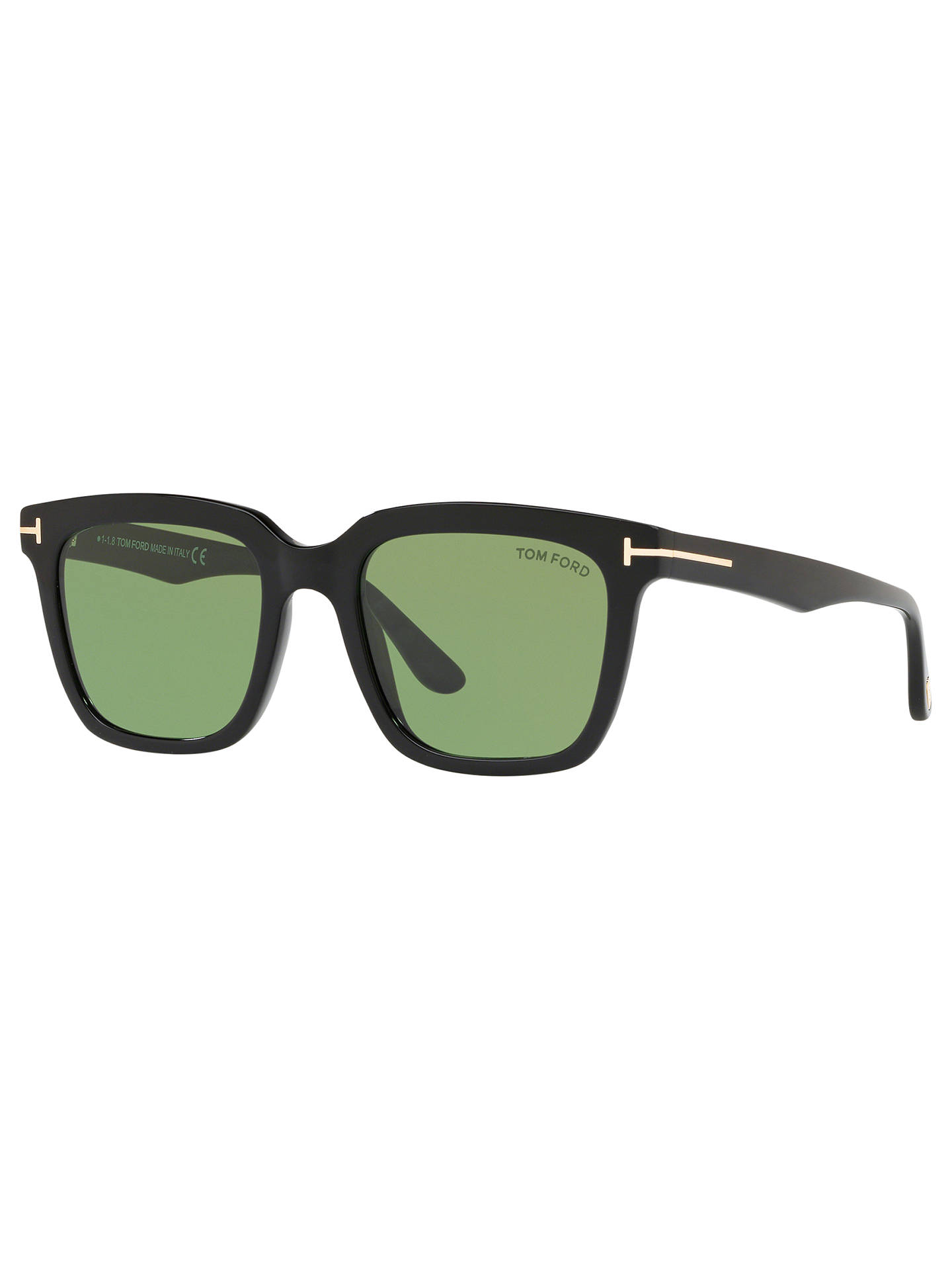 cc05dc61f92 TOM FORD FT0646 Men s Marco Rectangular Sunglasses at John Lewis ...