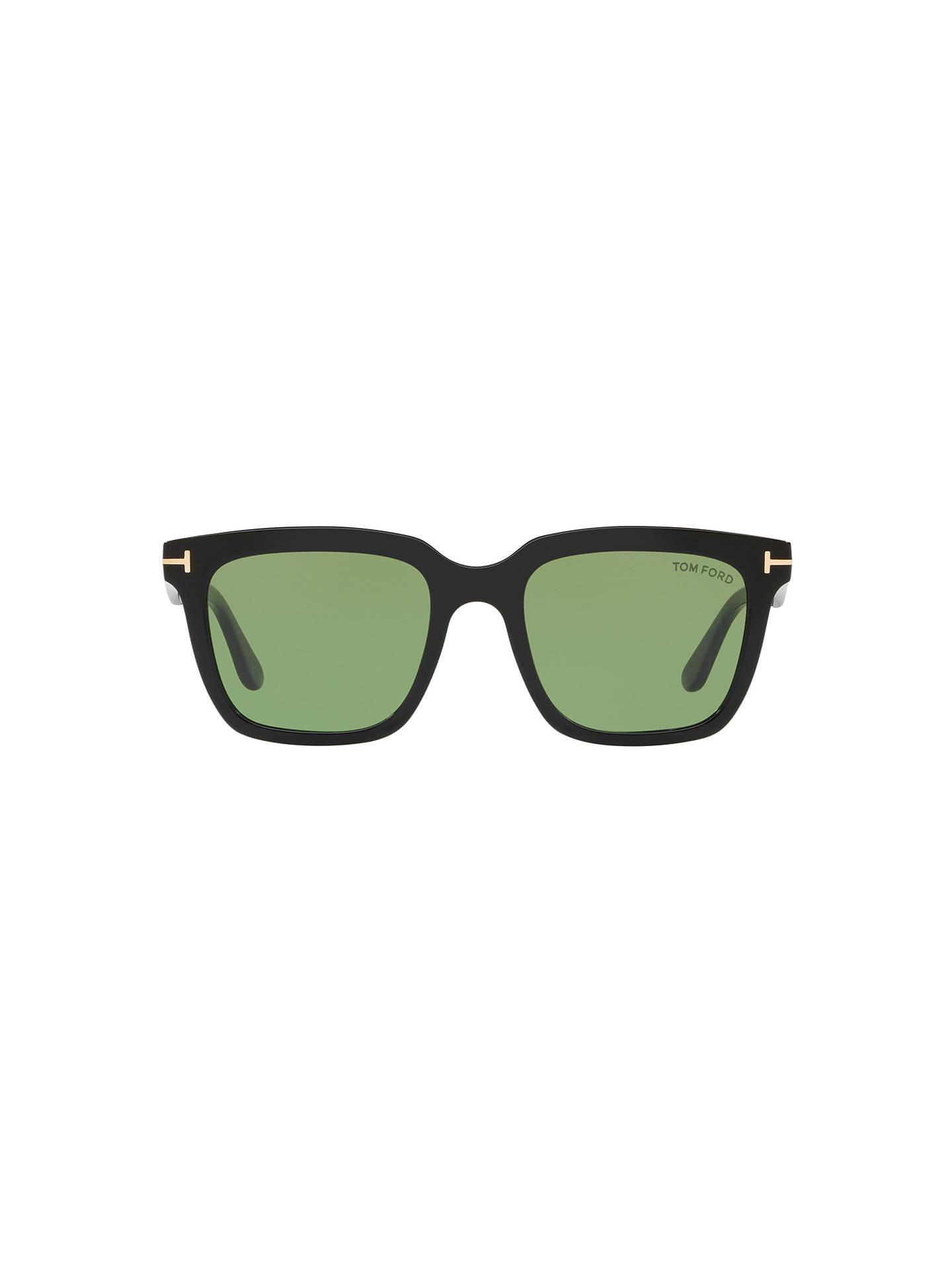 ec55e05780a TOM FORD FT0646 Men s Marco Rectangular Sunglasses at John Lewis ...