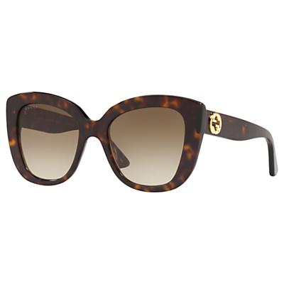Gucci GG0327S Women's Cat's Eye Sunglasses