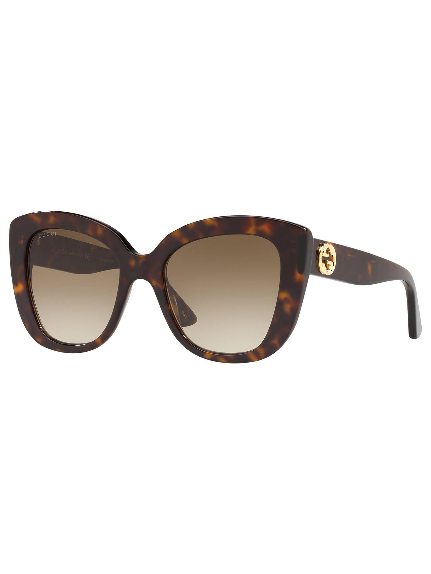 839a97593c Gucci GG0327S Women s Cat s Eye Sunglasses at John Lewis   Partners