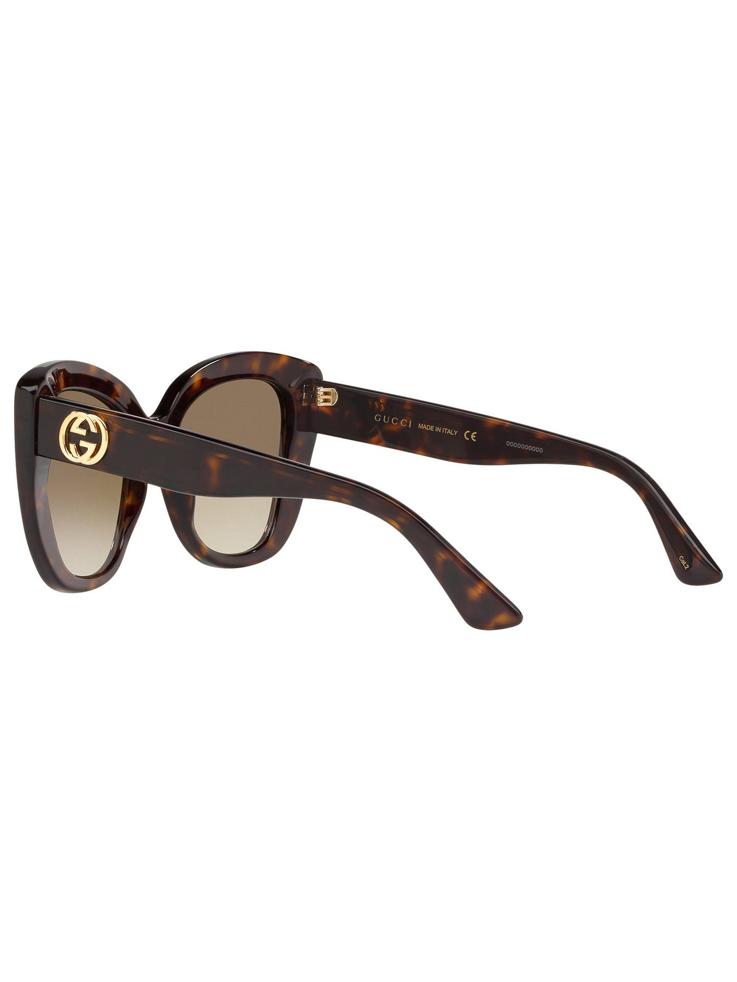 c6a7cd38456 Gucci GG0327S Women s Cat s Eye Sunglasses at John Lewis   Partners