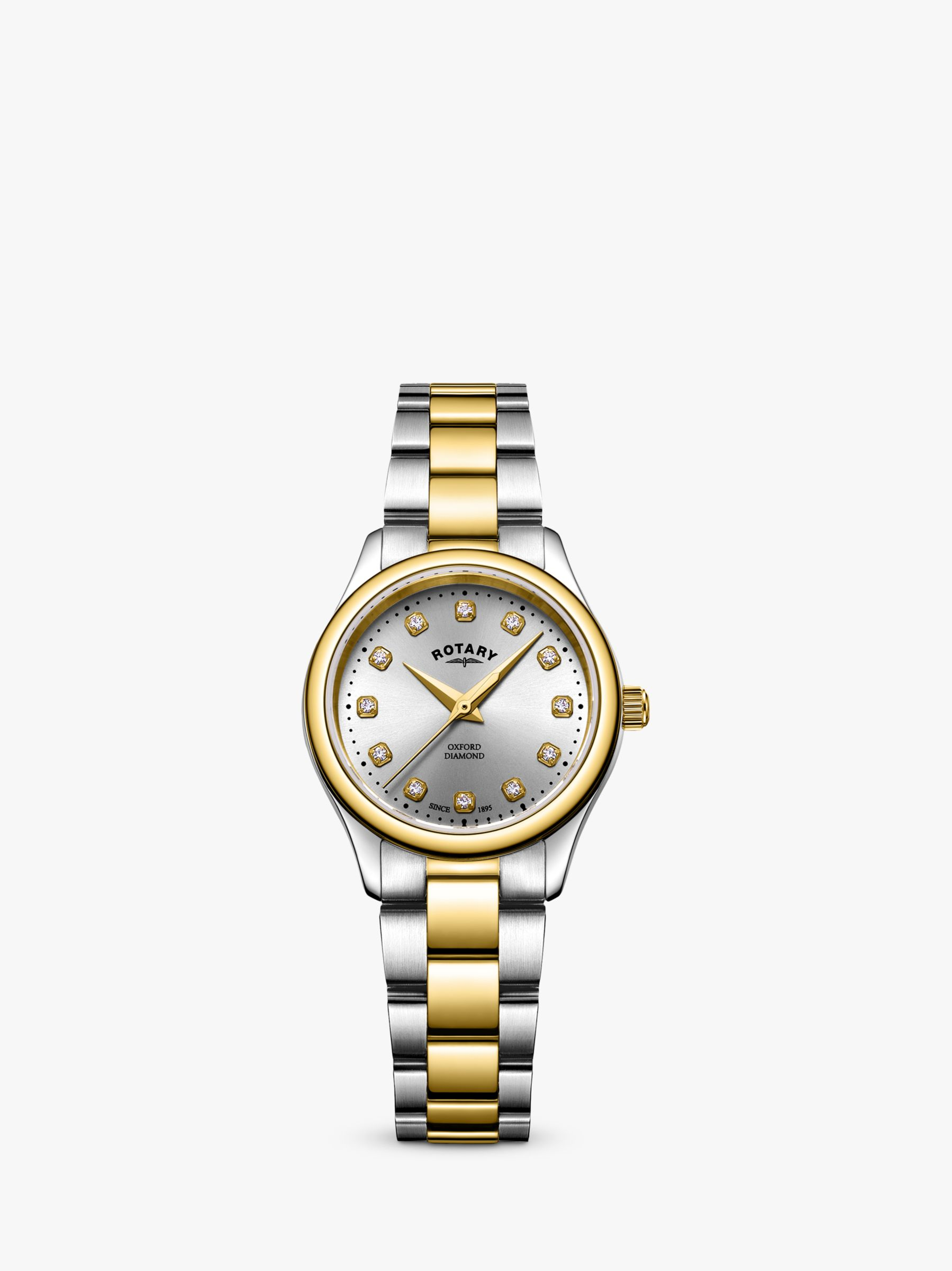Rotary Rotary LB05093/44/D Women's Oxford Diamond Bracelet Strap Watch, Multi