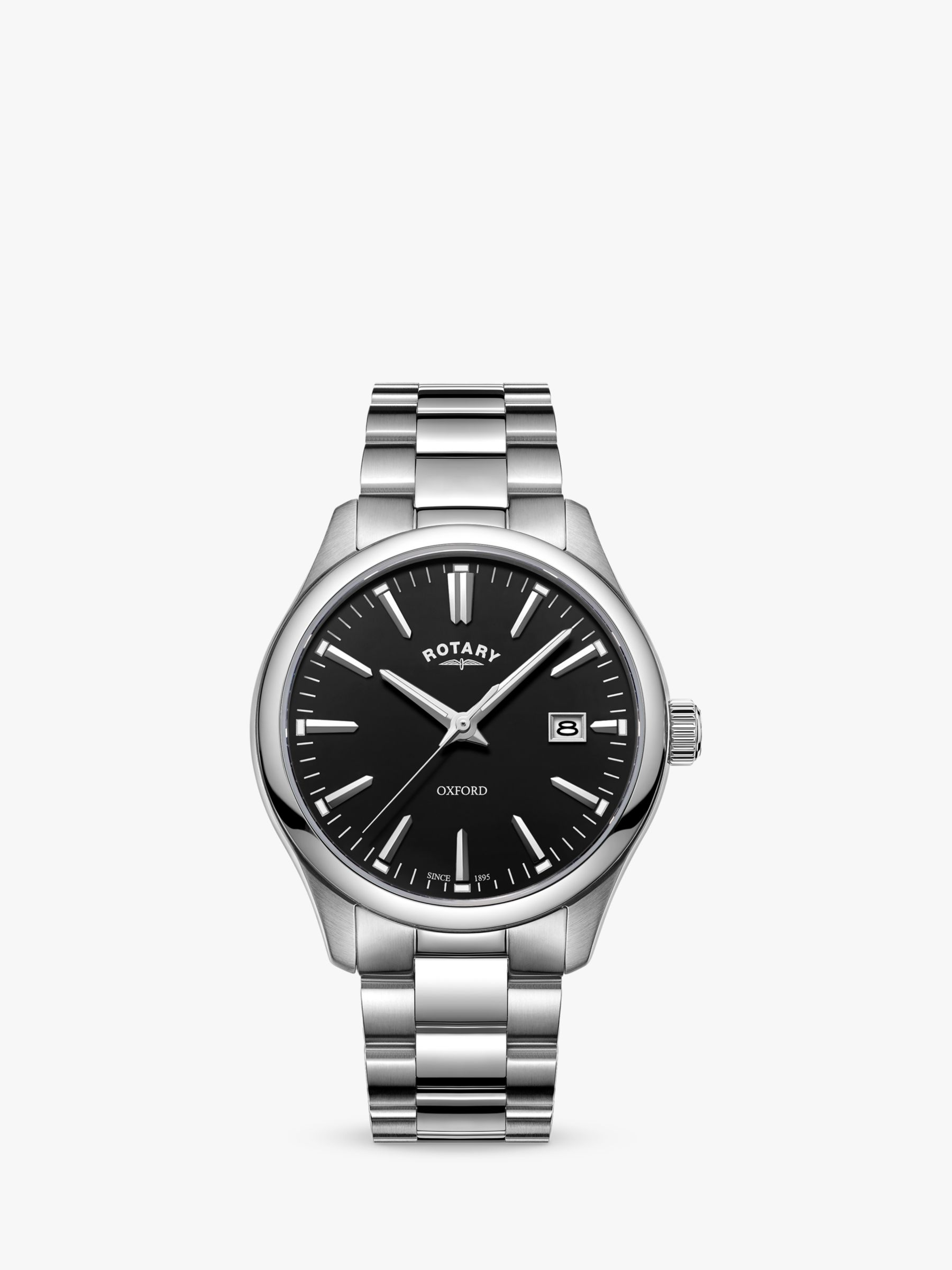 Rotary Rotary Men's Oxford Date Bracelet Strap Watch