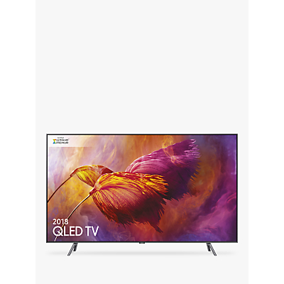 Samsung QE55Q8DN (2018) QLED HDR 1500 4K Ultra HD Smart TV, 55 with TVPlus/Freesat HD & 360 Design, Ultra HD Premium Certified, Black