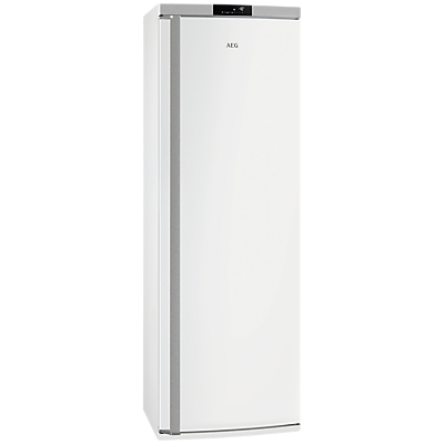AEG AGE62526NW Tall Freezer, A++ Energy Rating, 59.5cm Wide, White