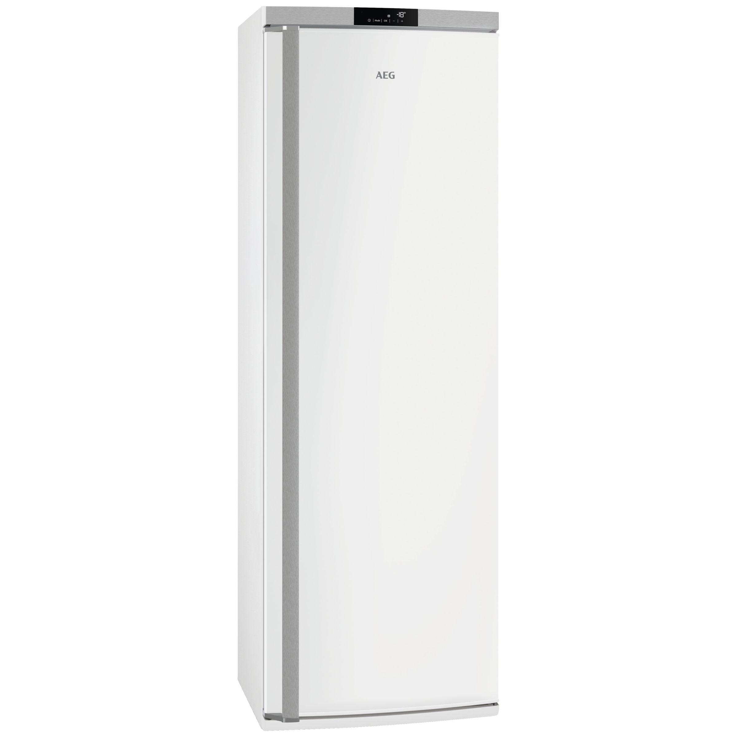 AEG AEG AGE62526NW Tall Freezer, A++ Energy Rating, 59.5cm Wide, White
