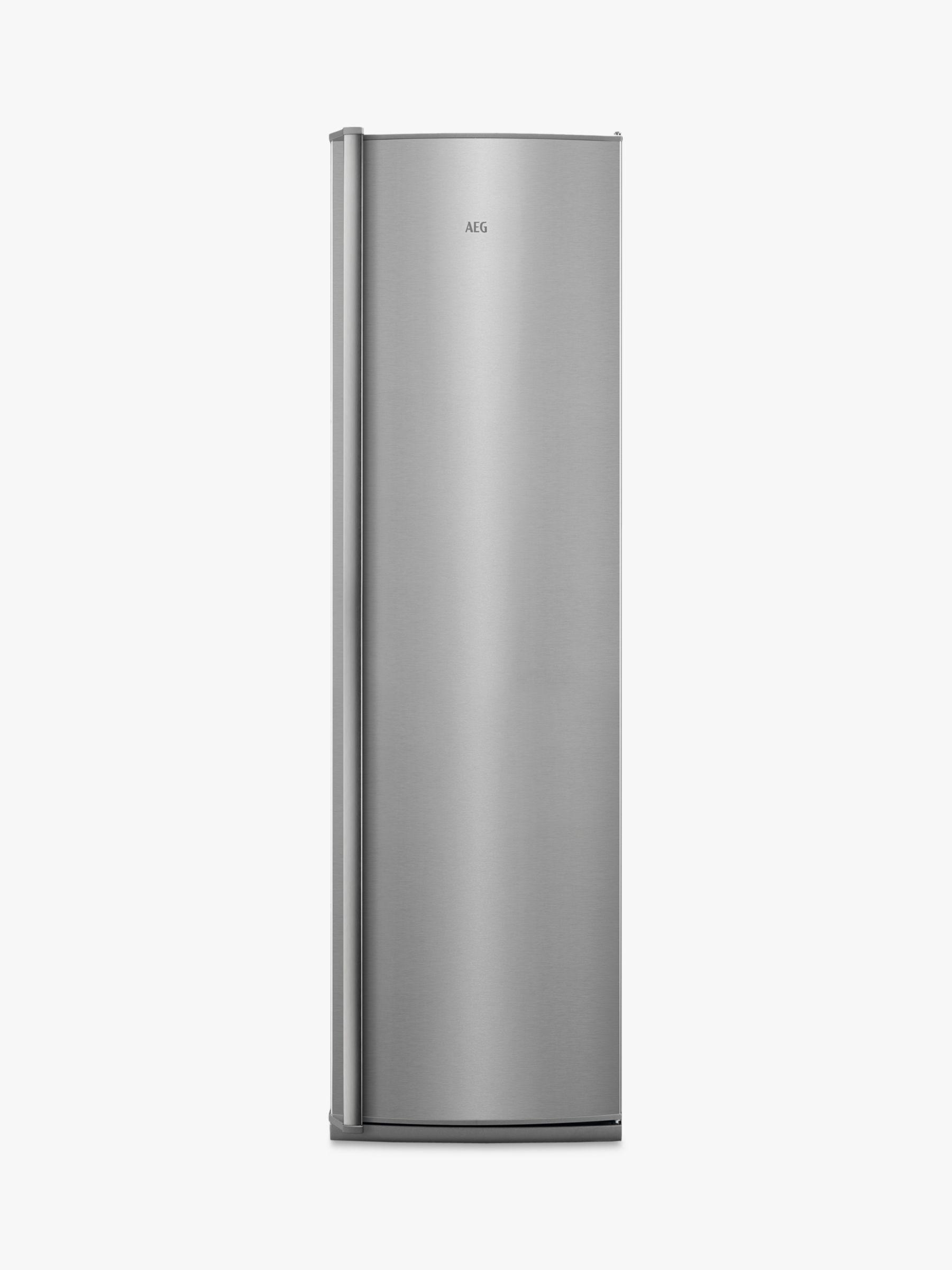 AEG AEG AGB62226NX Tall Freezer, A++ Energy Rating, 59.5cm Wide, Silver