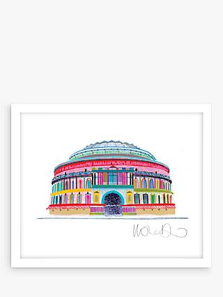 Ilona Drew - Royal Albert Hall Framed Print & Mount, 27.5 x 33.5cm