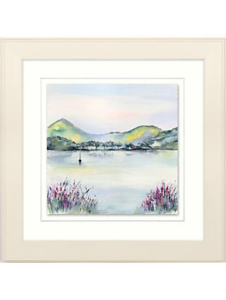 Elizabeth baldin by the shore framed print mount 33 5 x 33 5cm