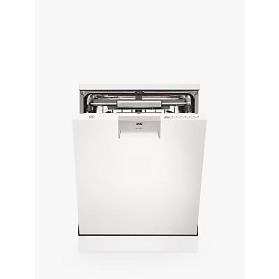 AEG FFE63806PW Freestanding Dishwasher, A+++ Energy Rating, White