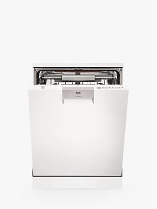 AEG FFE63806PW Freestanding Dishwasher, A+++ Energy Rating, White