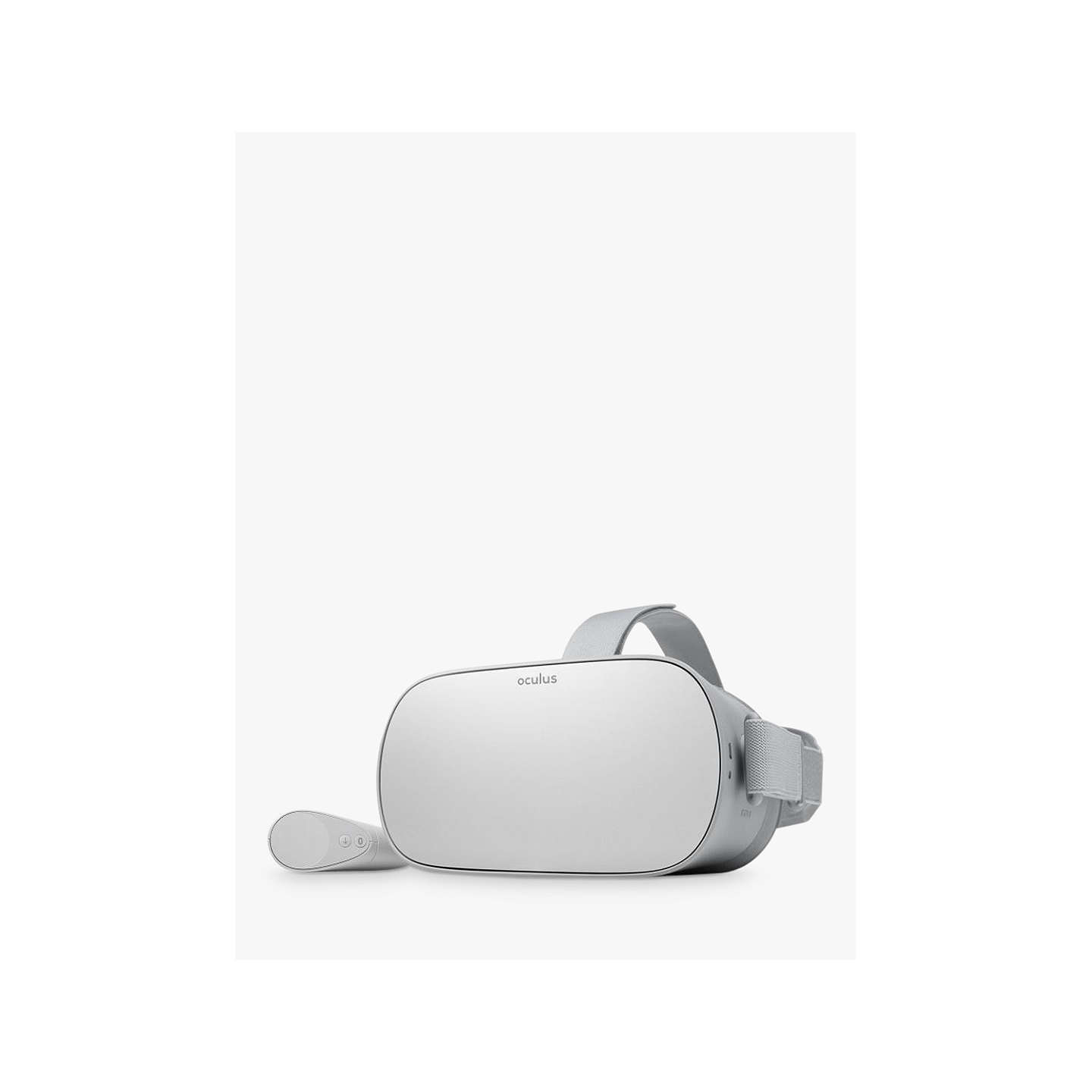 BuyOculus Go, Standalone Virtual Reality Headset and Controller, 32GB, Silver Online at johnlewis.com