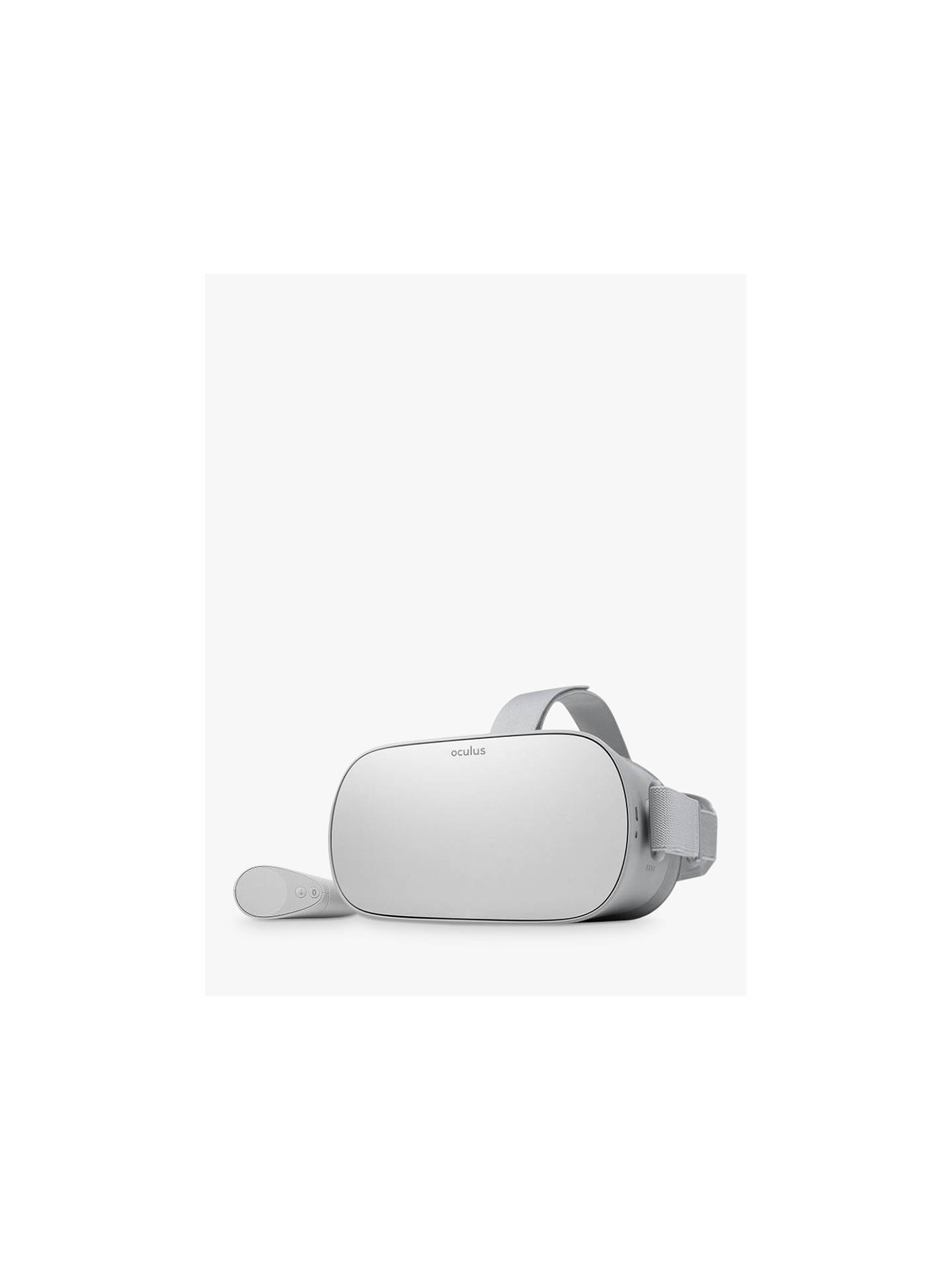 Oculus Go, Standalone Virtual Reality Headset and Controller, 32GB, Silver
