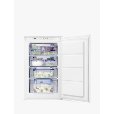 Zanussi ZBF11421SV Freestanding Freezer, A+ Energy Rating, 54cm Wide, White