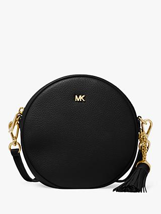 971d98a73ff0 MICHAEL Michael Kors Canteen Leather Cross Body Bag