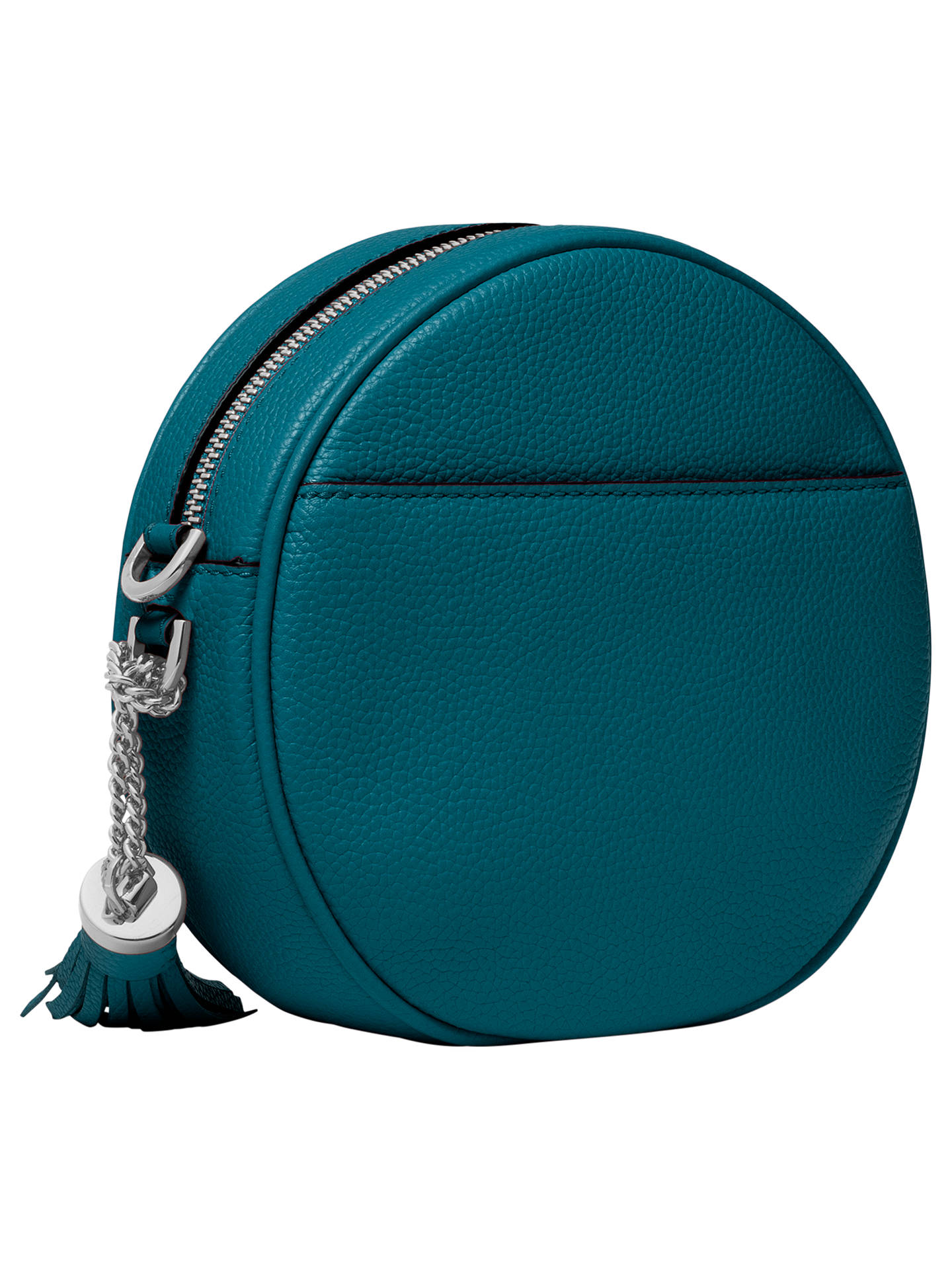 Michael Kors Can Leather Cross Body Bag Luxe Teal Online At Johnlewis