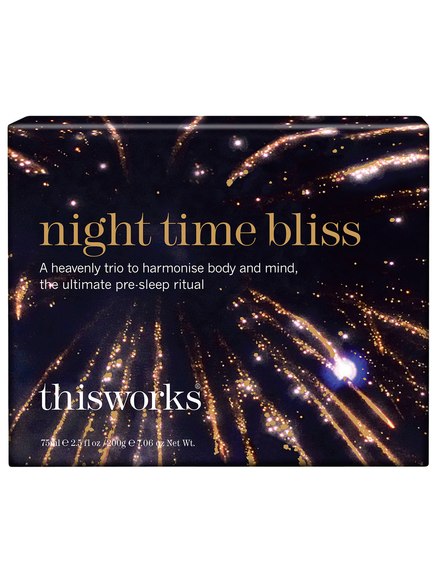 BuyThis Works Night Time Bliss Fragrance Gift Set Online at johnlewis.com