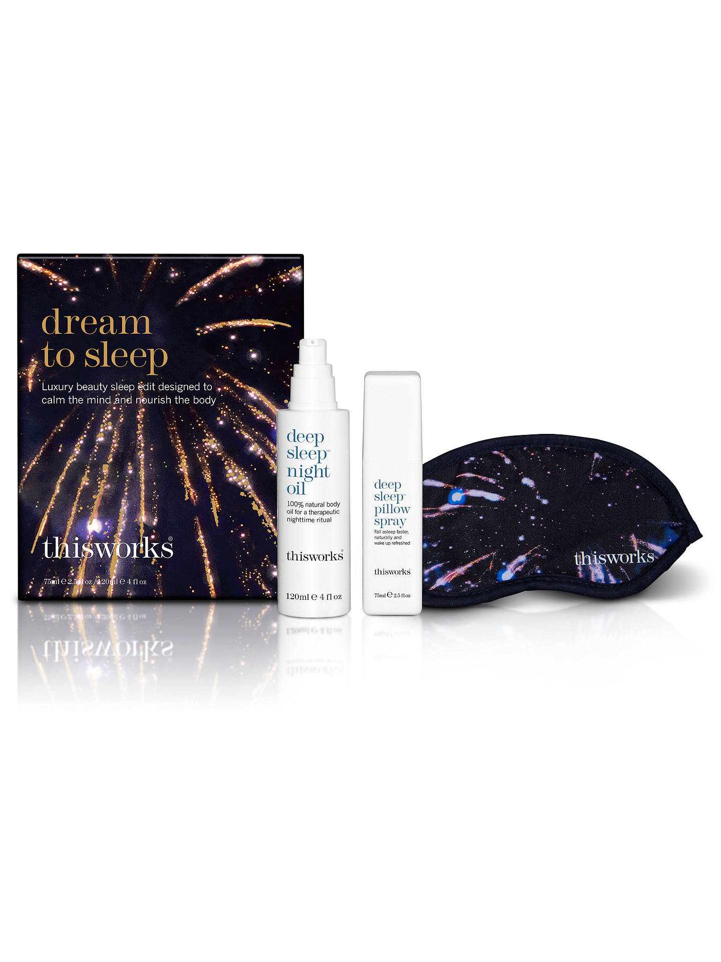 BuyThis Works Dream To Sleep Fragrance Gift Set Online at johnlewis.com