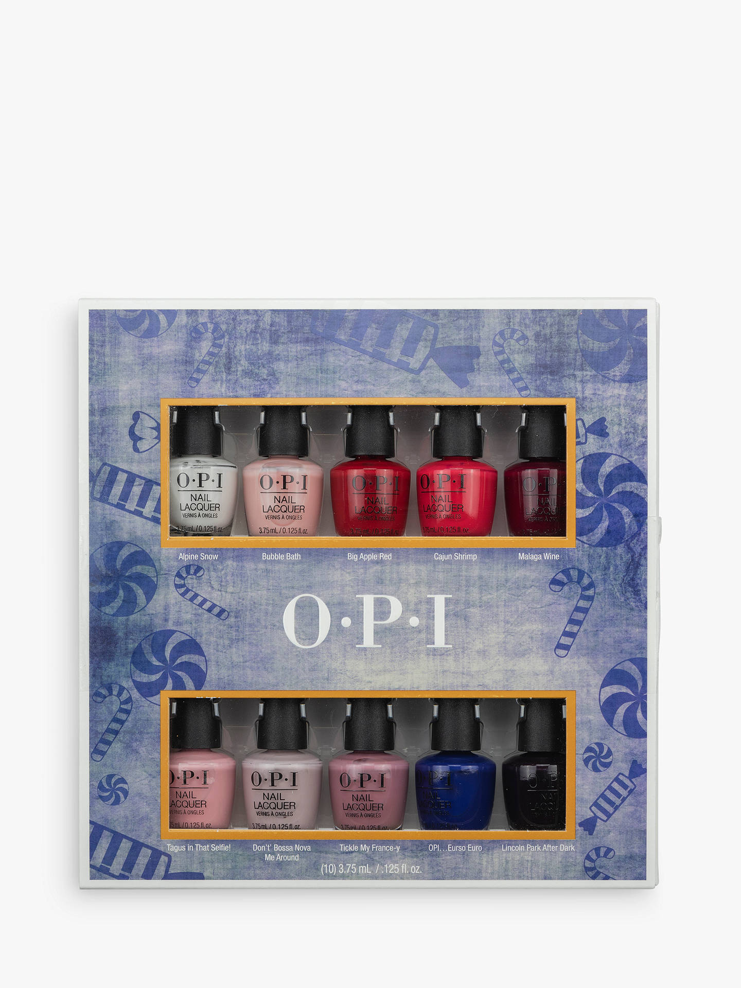 Opi Nutcracker Mini Nail Lacquer 10 Pack Gift Set At John