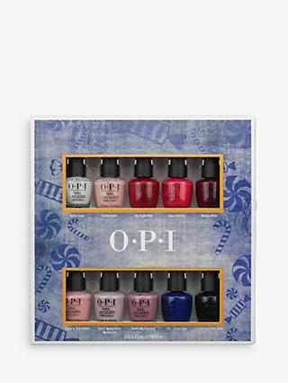 Opi Nuter Mini Nail Lacquer 10 Pack Gift Set