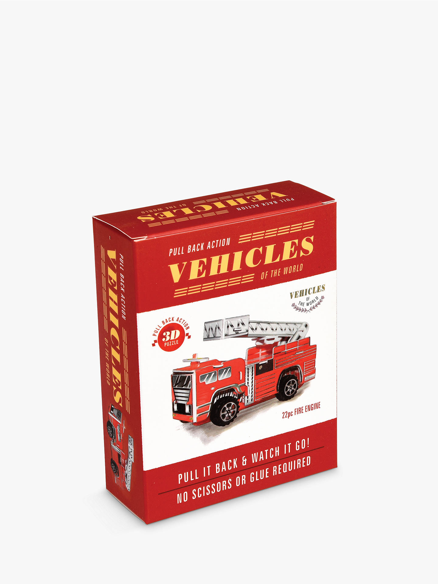 BuyRex London Make Your Own Pull Back Friction Fire Engine Online at johnlewis.com