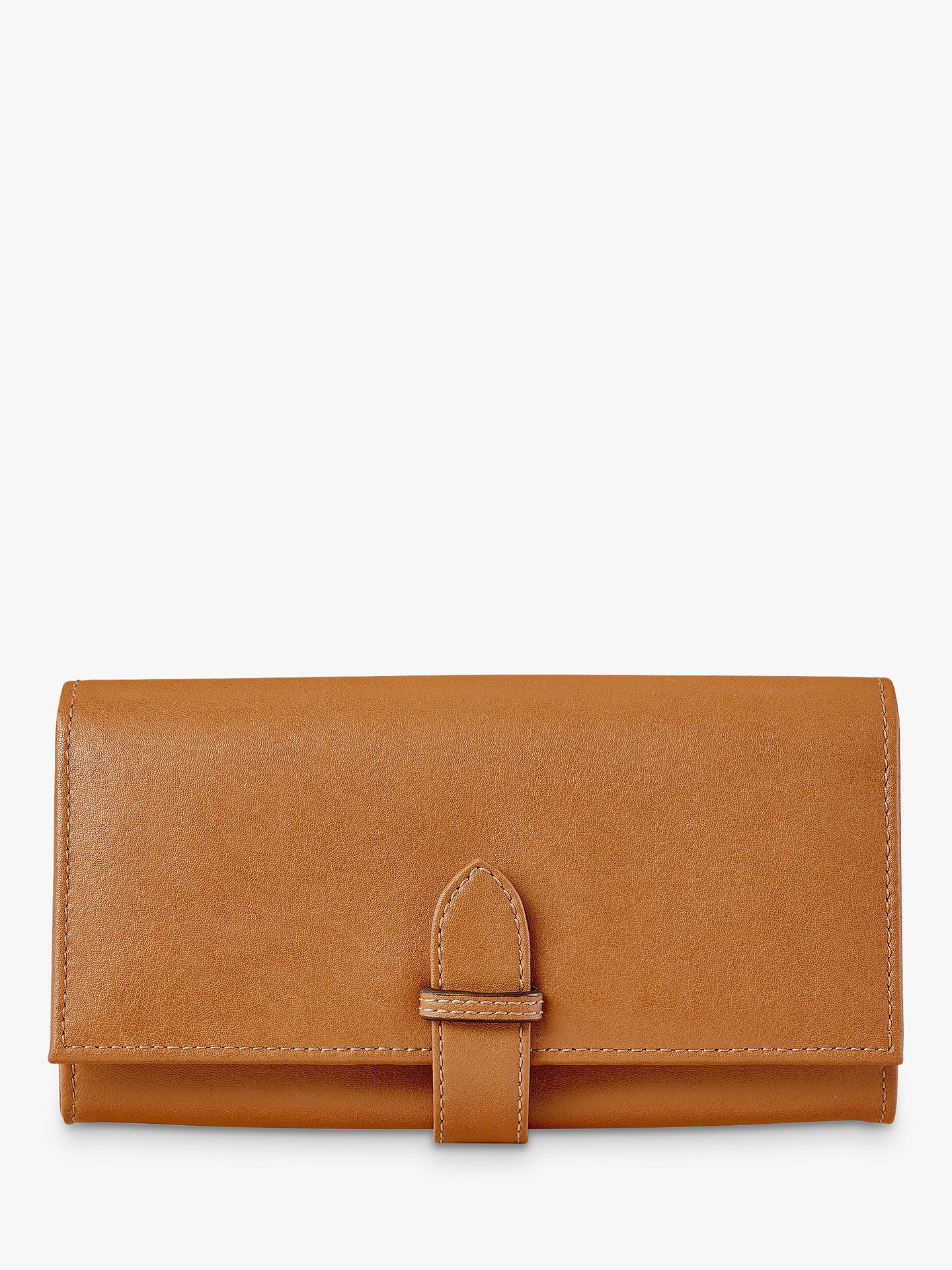 Buy Aspinal of London Leather Ladies Purse Wallet, Tan Online at johnlewis.com