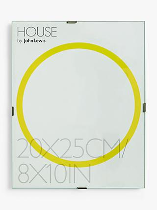 House By John Lewis Gl Clip Photo Frame 8 X 10 20