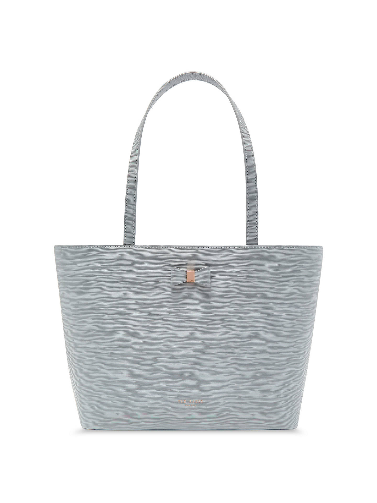 7fc150a6c Ted Baker Deanie Bow Leather Small Shopper Bag at John Lewis   Partners
