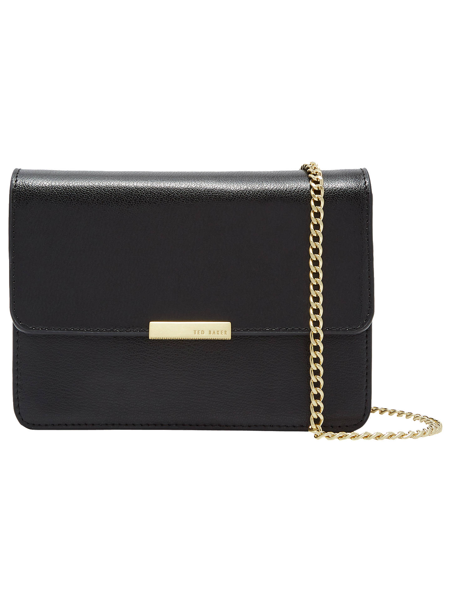 Ted Baker Marienn Core Leather Cross Body Bag at John Lewis   Partners cafd6e8adc49d