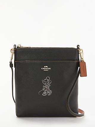 Disney X Coach Minnie Leather Messenger Cross Body Bag