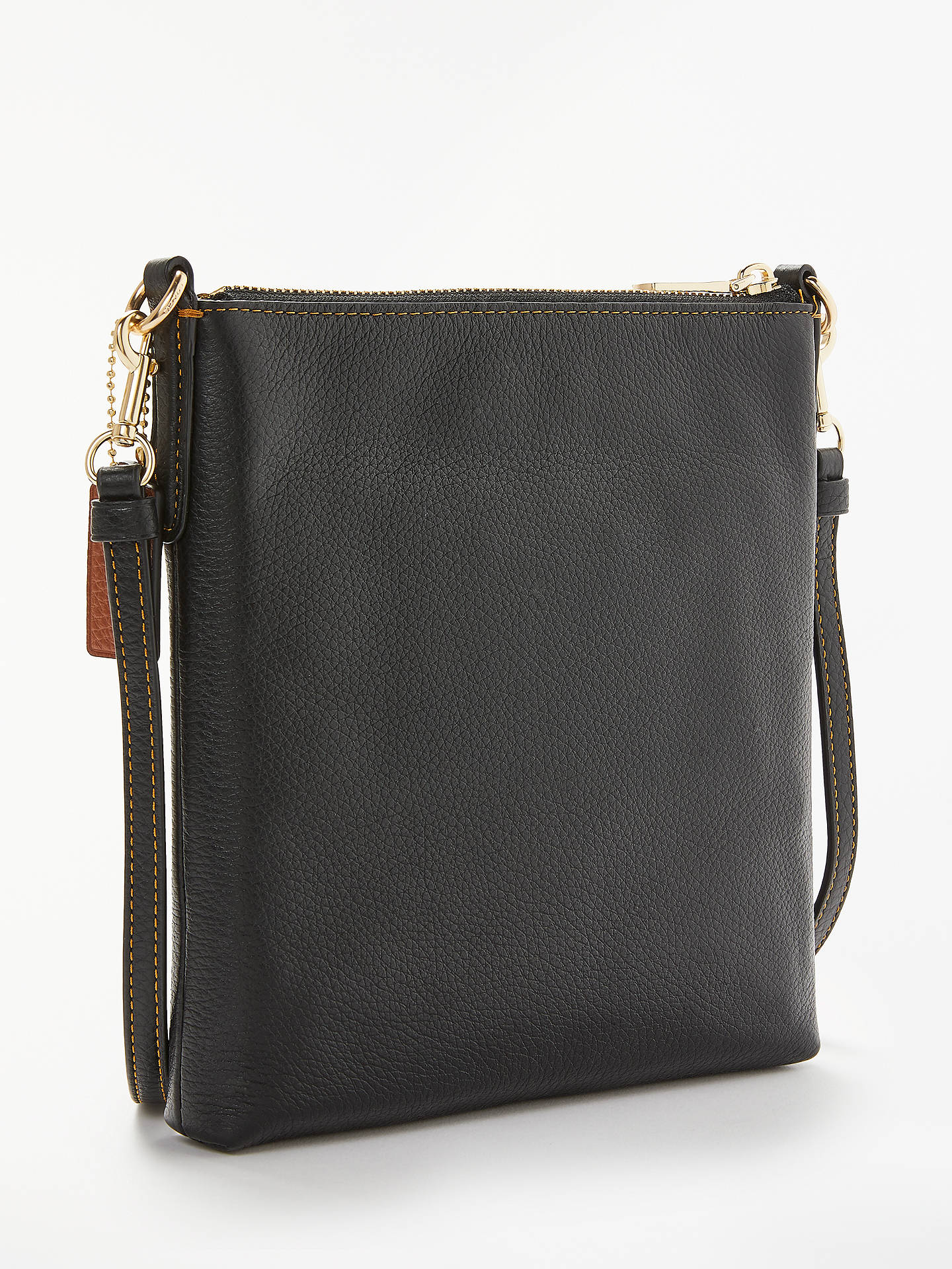 Disney x Coach Minnie Leather Messenger Cross Body Bag at John Lewis ... 941dafeb48d04