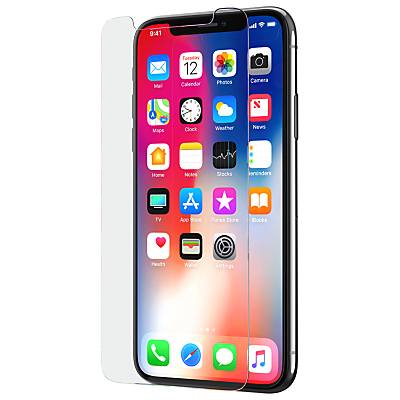 Image of tech21 Evo Glass Protector for iPhone X, Clear