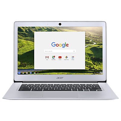 """Image of ACER CB3-431 14"""" Full HD Chromebook - Silver, Silver"""