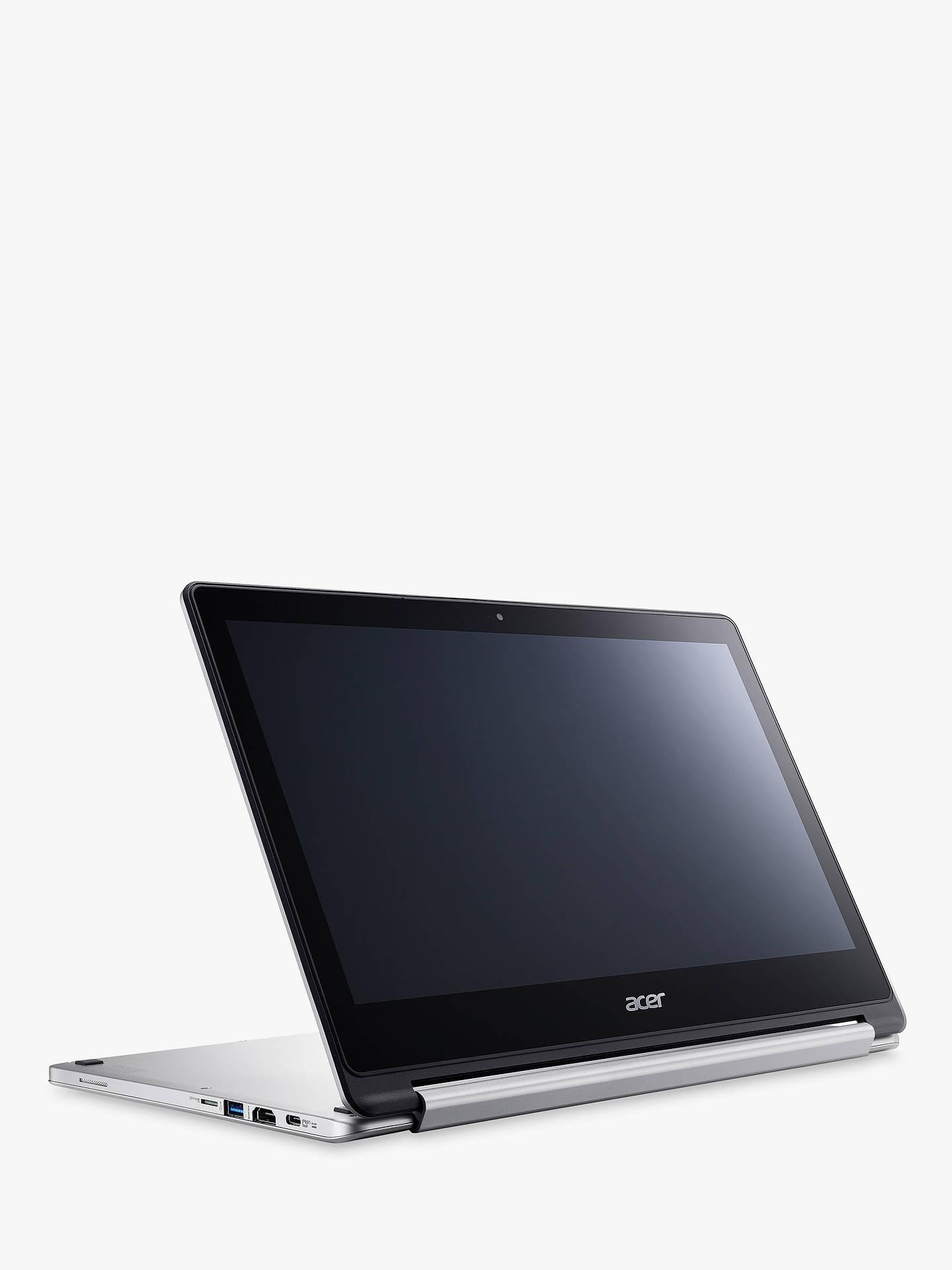 "Acer Chromebook CB5-312T-K1TR MediaTek M8173C Processor, 4GB RAM, 64GB eMMC  Flash, 13.3"" Touch Screen, Silver at John Lewis & Partners"