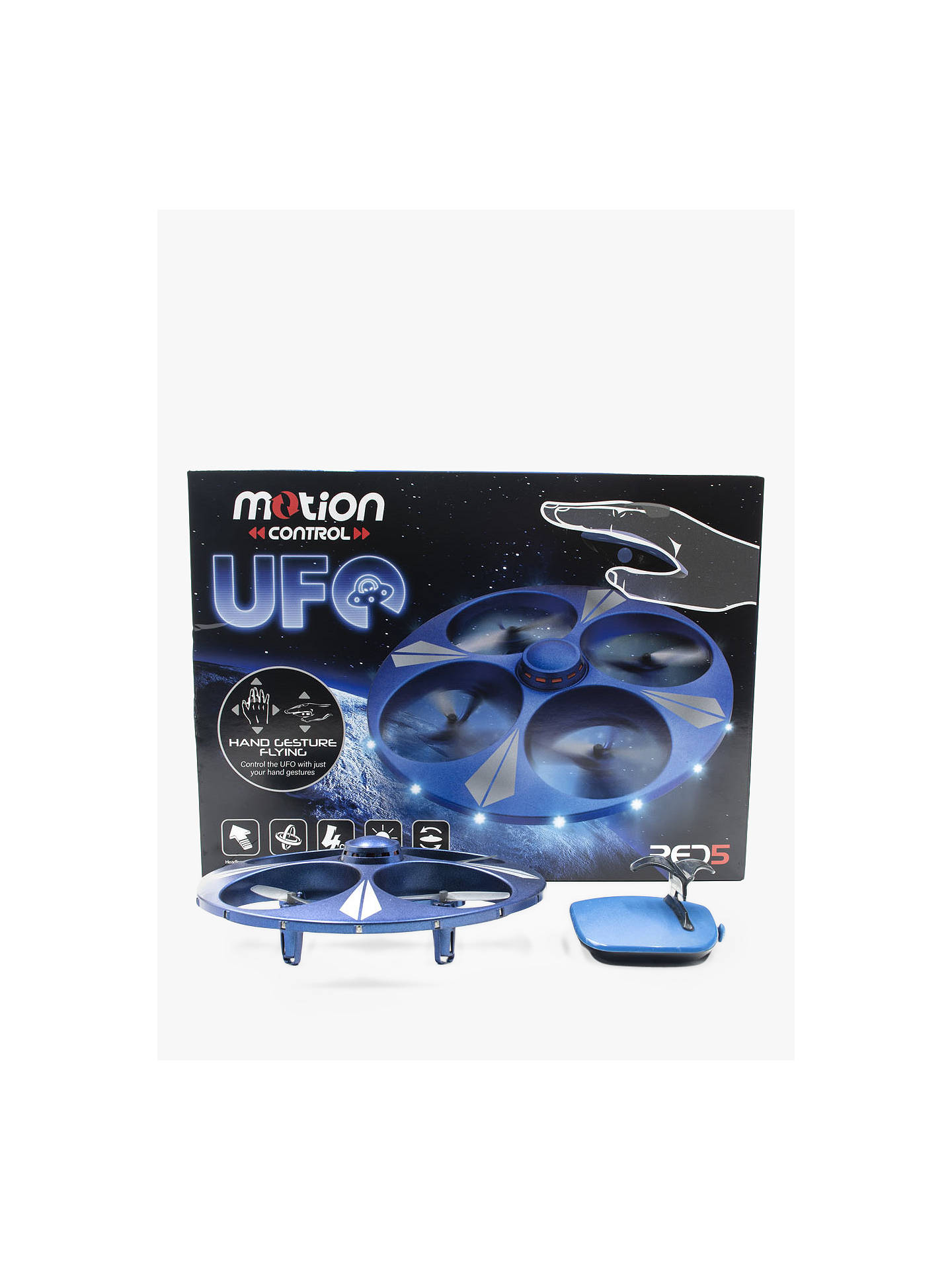 BuyRED5 Light Up Motion UFO Drone Online at johnlewis.com