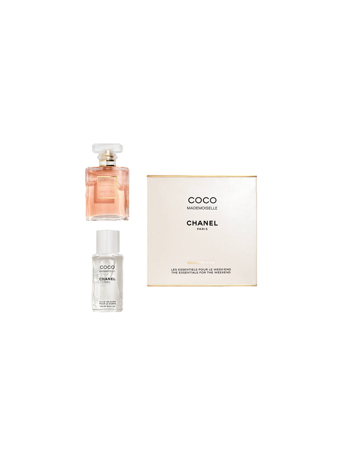 0e29d235bed58 Buy CHANEL COCO MADEMOISELLE The Essentials For The Weekend Online at  johnlewis.com