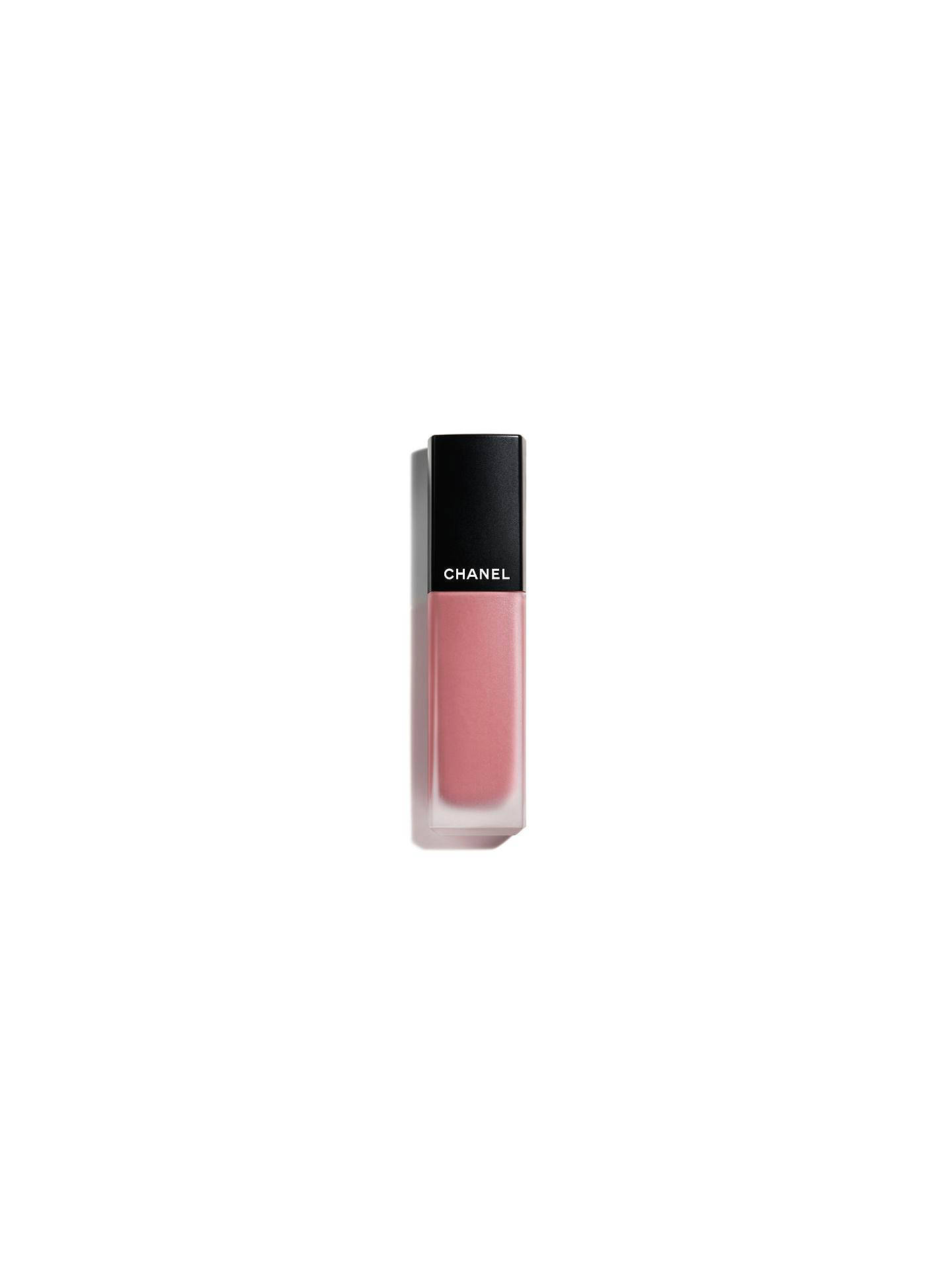 Buy CHANEL Rouge Allure Ink Matte Liquid Lip Colour, 168 Serenity Online at johnlewis.com