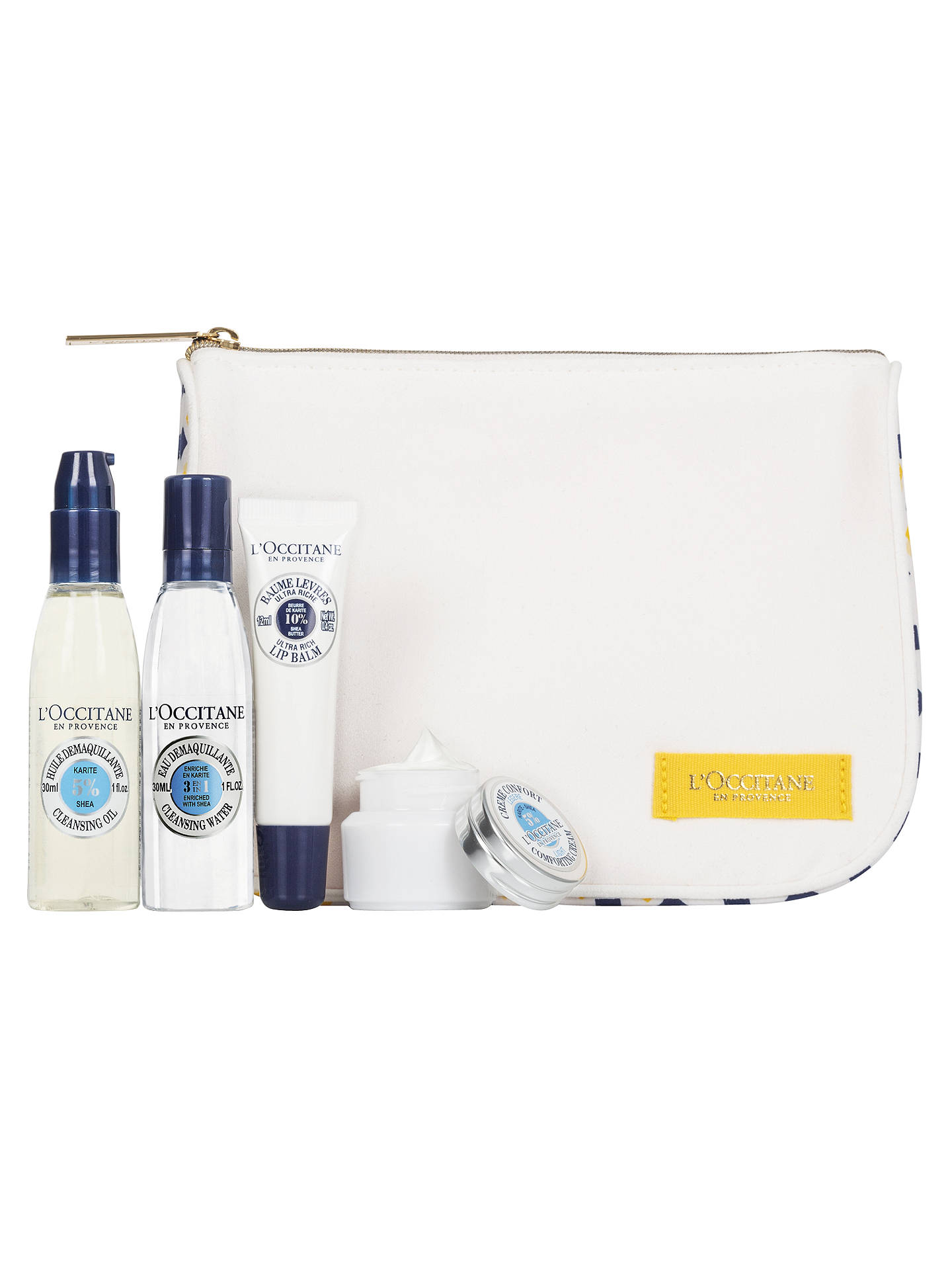 LOccitane Shea Butter Skincare Travel Ritual Gift Set