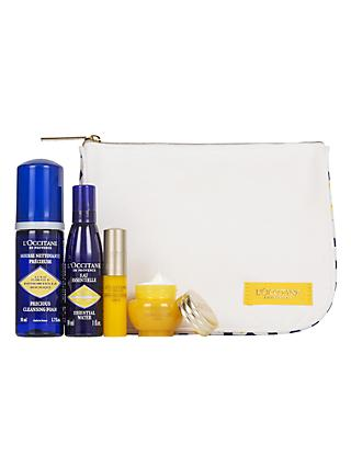 L'Occitane Immortelle Skincare Travel Ritual Gift Set