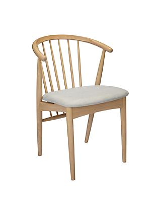 Croft Collection Kinross Spindle Dining Chair Oak