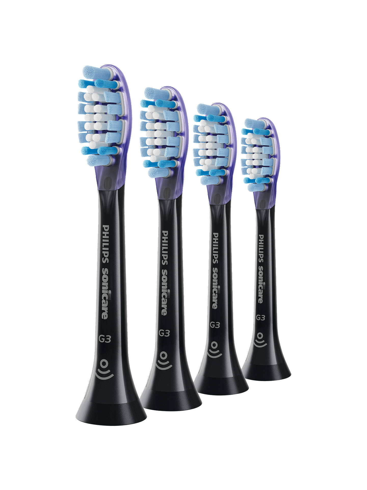 BuyPhilips GumCare HX9054/33 Brush Heads, Pack of 4 Online at johnlewis.com